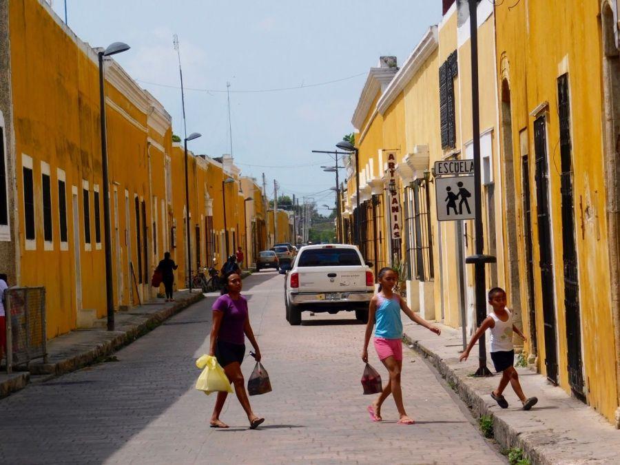 Izamal : la ville jaune du Yucatan (Mexique)