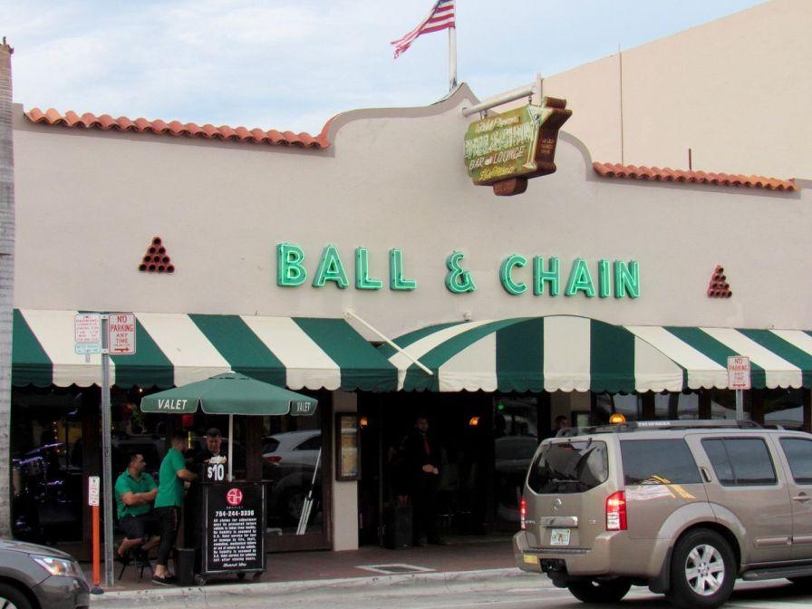 Le fameux club Ball & Chain à Little Havana, le quartier cubain de Miami.