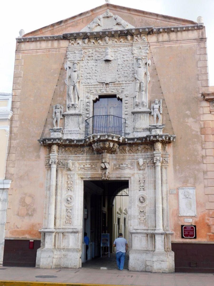 La Casa de Montejo à Merida