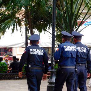 Le Zócalo - Plaza Grande de Merida, la capitale du Yucatan