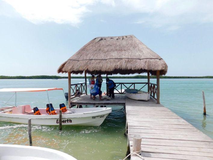 Visiter Rio Lagartos et son lagon, dans le Yucatan au Mexique.