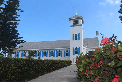 Bahamas Great Exuma St Andrews Church
