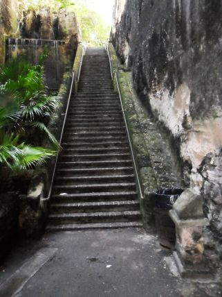 Bahamas New Providence Nassau Queen's Staircase