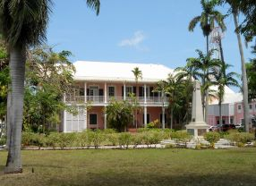 Bahamas New Providence Nassau - The Supreme Court Building - Parliament Square