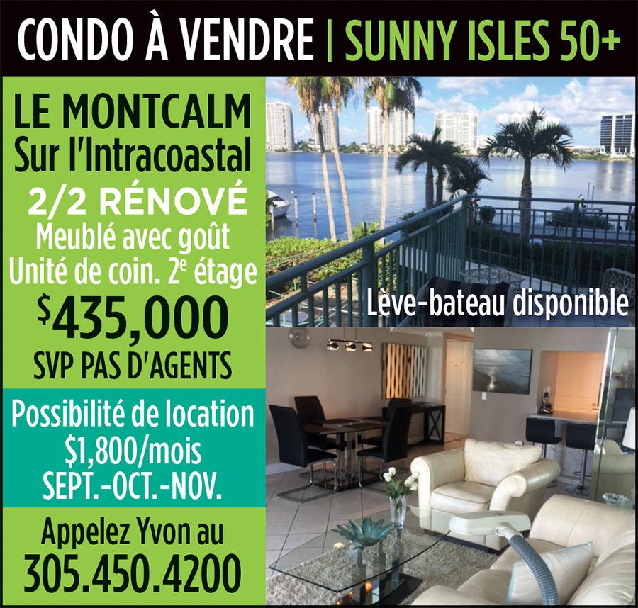 Condo à vendre à Sunny Isles en Floride