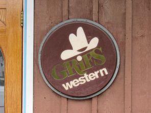 Magasin cowboy/western Grifs à Davie en Floride.