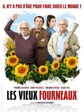 Film Les vieux fourneaux au festival du film français de Miami
