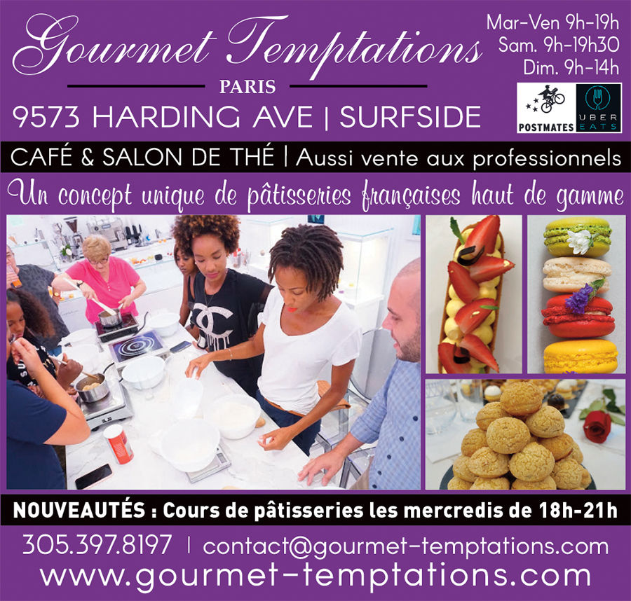 Gourmet Temptations Surfside Miami Beach
