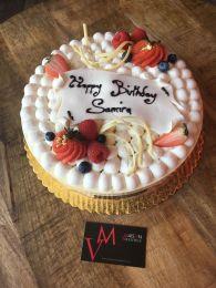 Maison Valentine - Miami Beach - Gâteau d'anniversaire fraisier