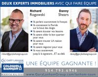 Richard Rogowski, Danny Shears agents immobiliers