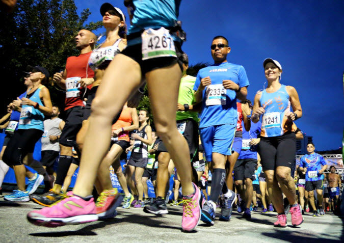Marathon des Palm Beaches