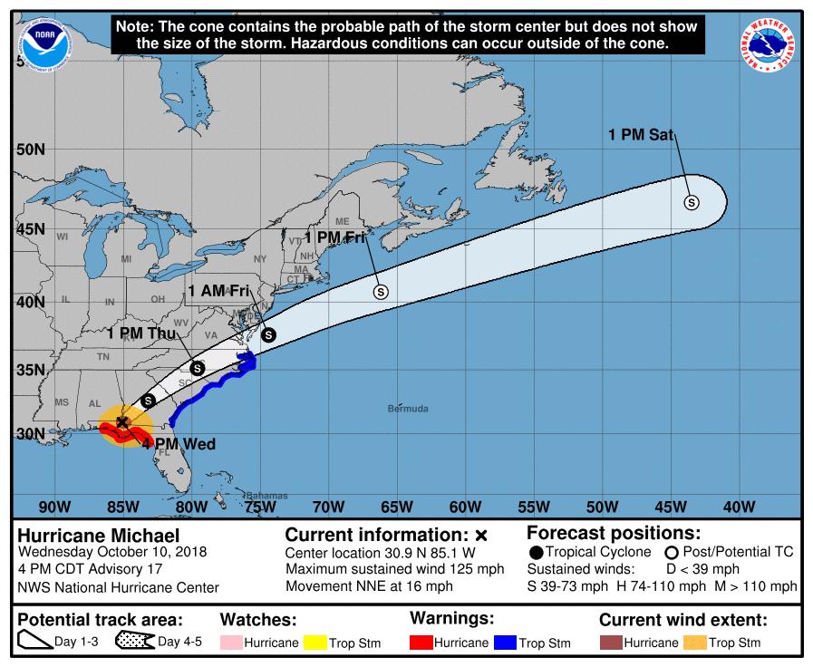 Ouragan Michael en Floride