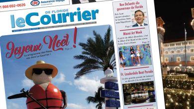 Photo of Le Courrier de Floride de Décembre 2018 est sorti !