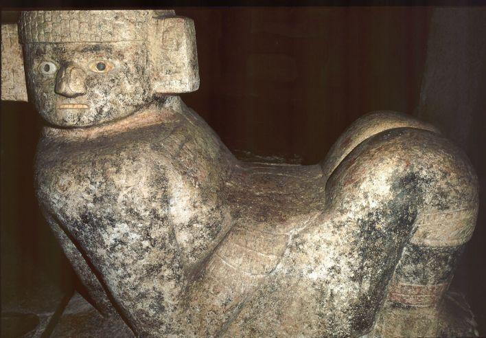Chac Mool du castillo de Chichen Itza