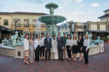 Le consul de France Clément Leclerc a été reçu a Orlando par Brigitte Dagot-Jensen et son équipe