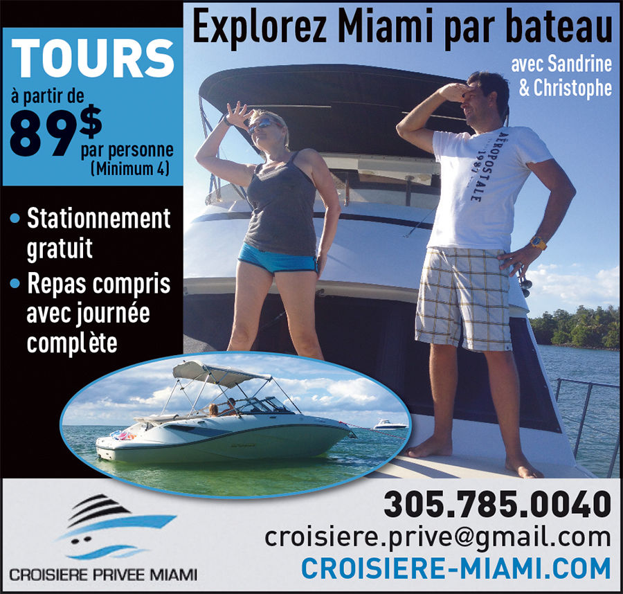 Croisière privée Miami