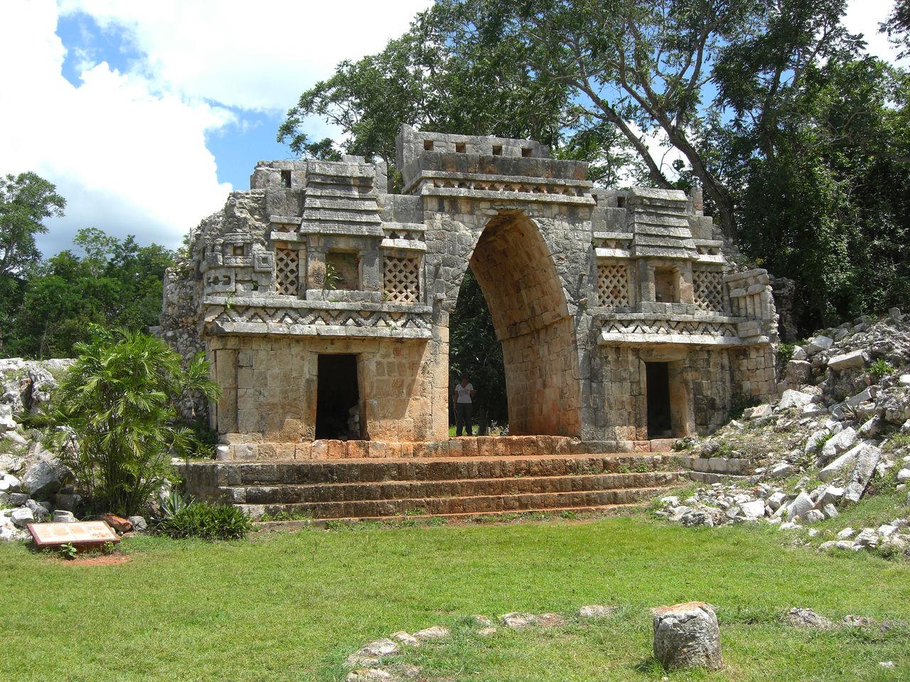 Labna et ses ruines mayas, dans le Yucatan.