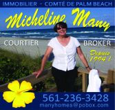 Micheline Many agent Immobilier