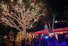 Photo of Pompano Beach : Les décorations de Noël de la Sixth Street en photo et vidéo