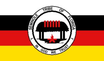 drapeau des seminoles de floride