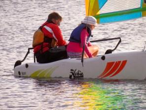 Voile (catamaran) au Club Med Sandpiper Bay à Port St Lucie en Floride