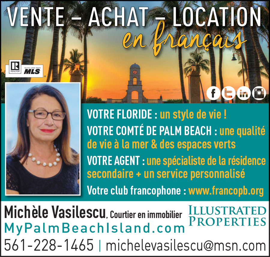 Michèle Vasilescu Immobilier Palm Beach