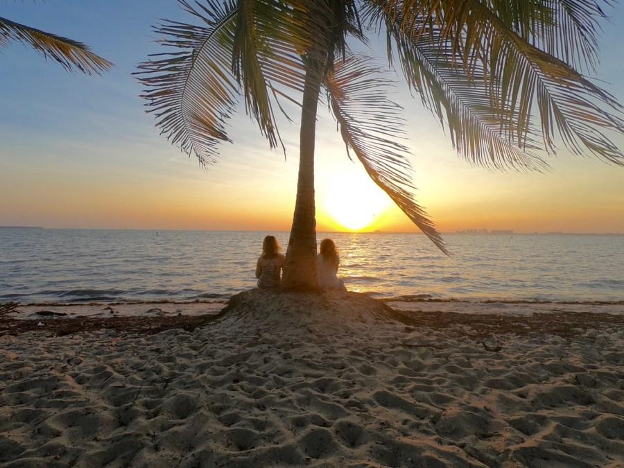 Coucher de soleil sur Virginia Island (Miami)