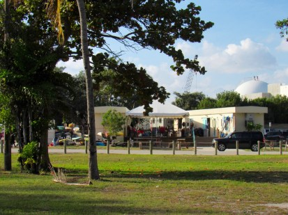 Lagon de Virginia Key, à Miami