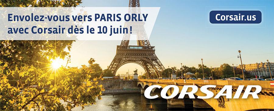 Corsair Vol Paris Miami