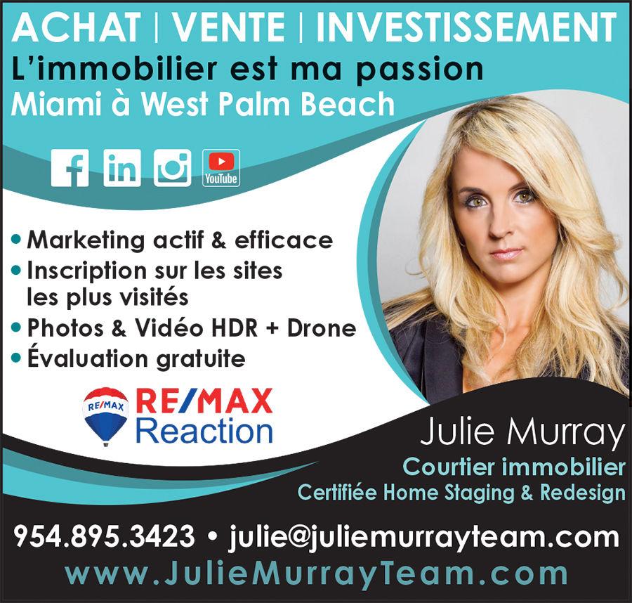Julie Murray immobilier floride