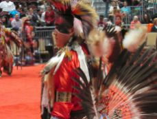 Pow wow des indiens seminoles au Hard Rock de Hollywood en Floride.