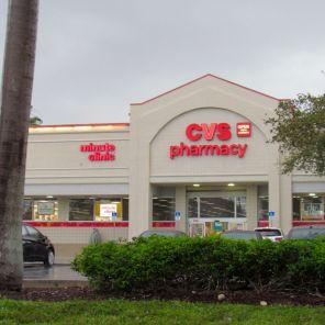 Un drugstore CVS, c'est à dire une pharmacie aux Etats-Unis