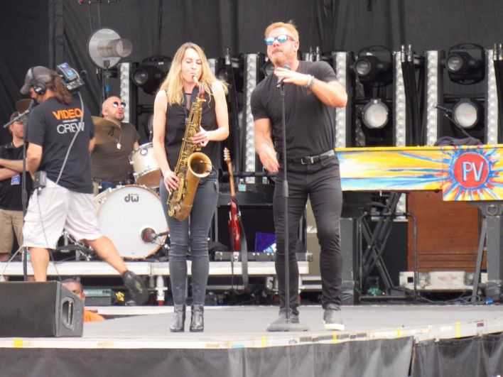 Phil Vassar à la Sugar Fest de Clewiston