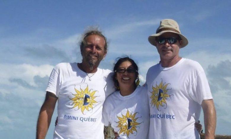 Bertrand Myre, Delia Vigil et Joel Prudhomme, de Miami-Québec