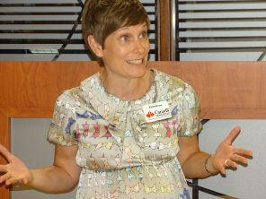 Elaine Brouca durant la 14e mission commerciale de la Chambre Canada-Floride