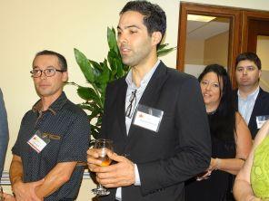 Ghassen Ganani durant la 14e mission commerciale de la Chambre Canada-Floride