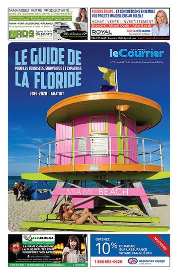 Le Guide de la Floride 2019-2020