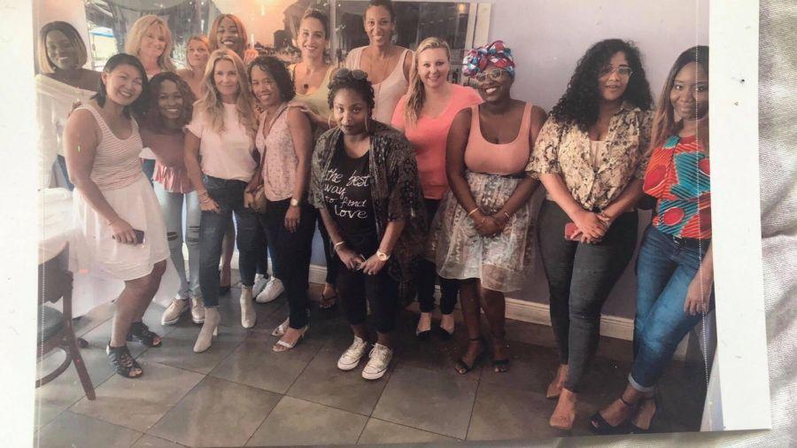 Groupe de femmes chefs d'entreprises à Miami