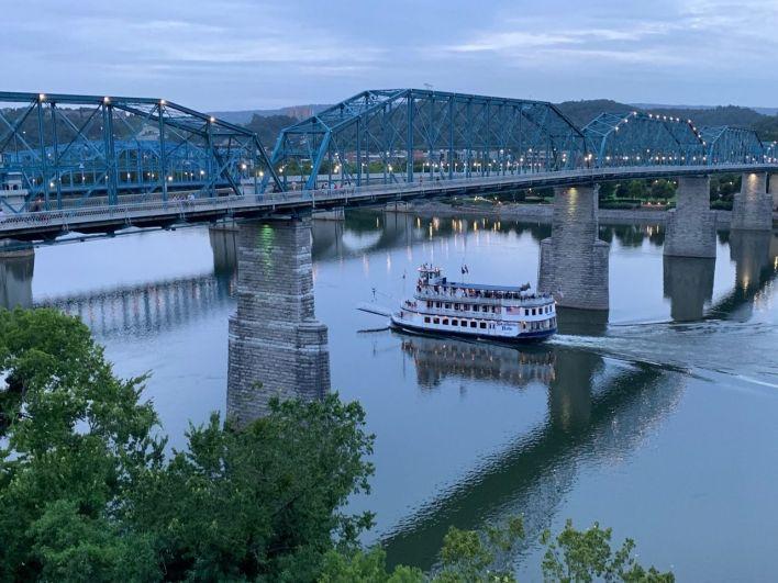 La rivière Tennessee à Chattanooga