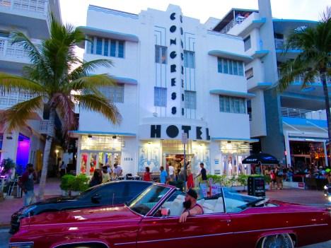 Ocean Drive à South Beach, Miami Beach