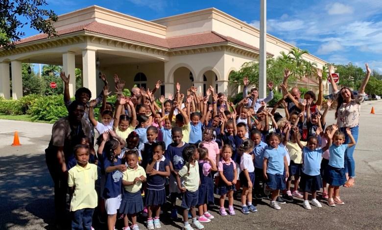 C'est la rentrée (2019) au Lycée Franco-Américain de Cooper City !