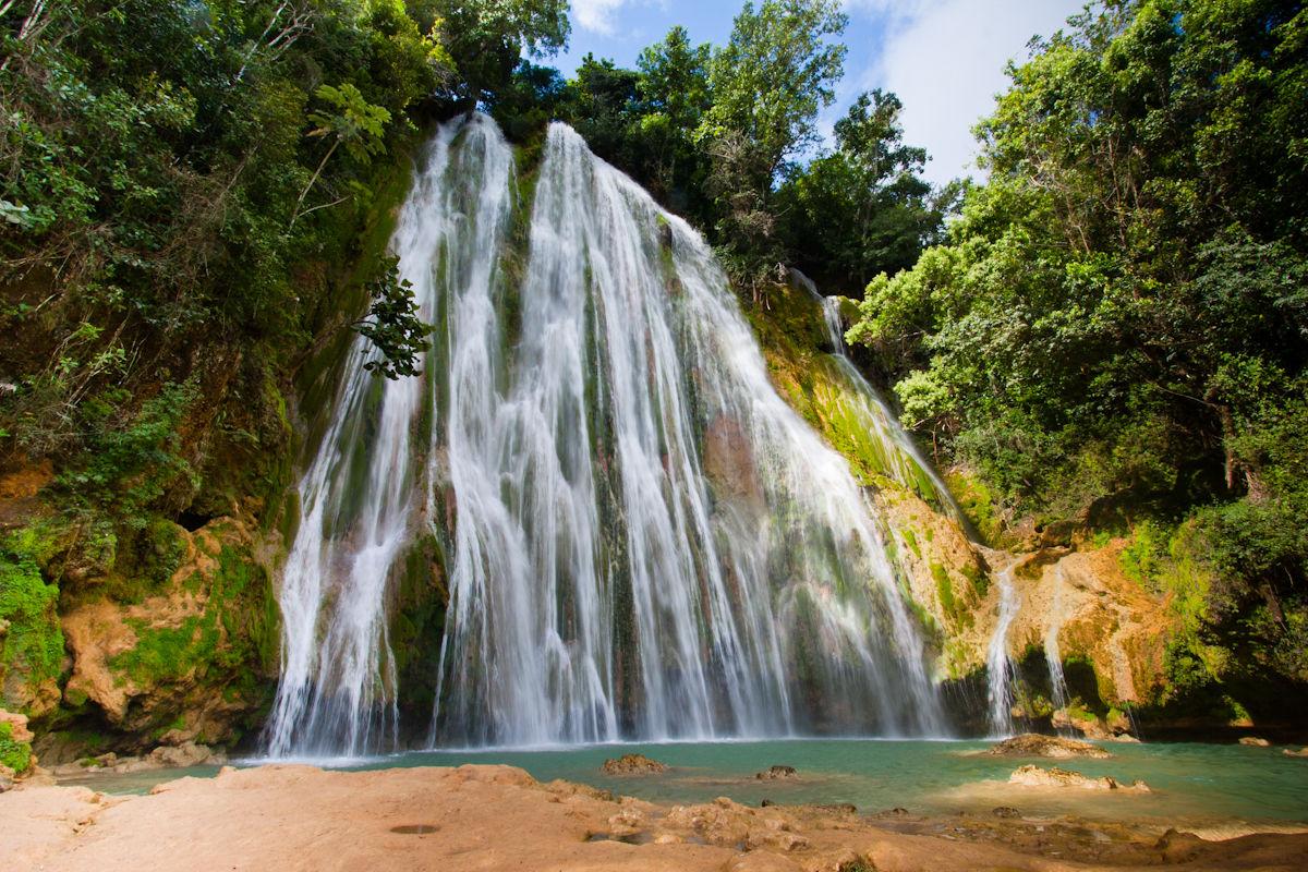 Cascade d'El Limon en République Dominicaine