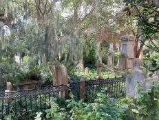 Cimetière de la Unitarian Church à Charleston