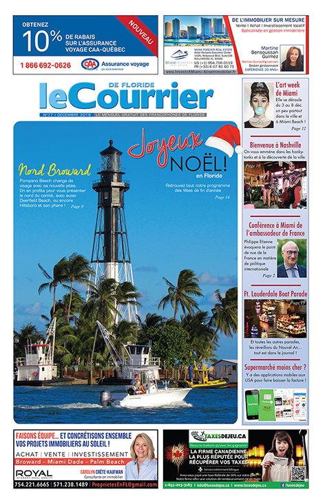 Le Courrier de Floride de Décembre 2019