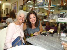 Monique Légaré et Micheline Diotte (Crédit photo : Diane Ledoux - Le Courrier de Floride)