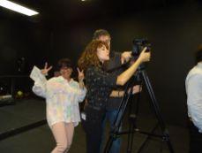 Robert Gazy, Amanda Gazy et Eddy Gazy du Viera Studio (Crédit photo : Diane Ledoux - Le Courrier de Floride)