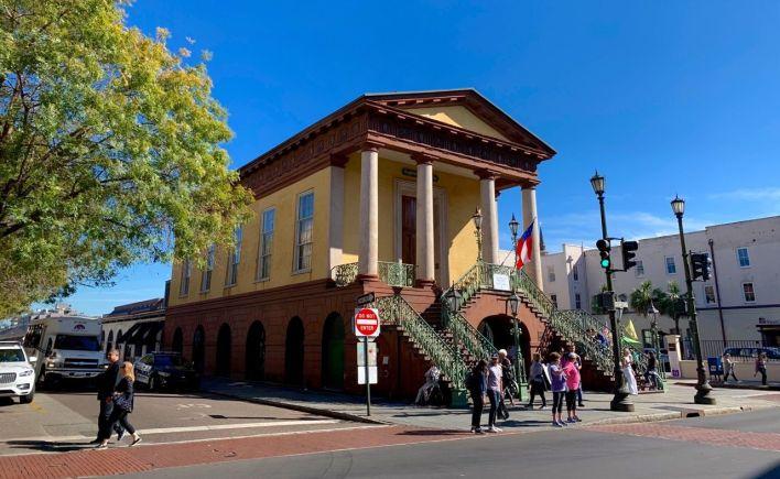 City Market (et musée confédéré) de Charleston