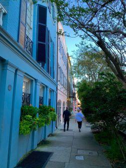 Rainbow Row à Charleston