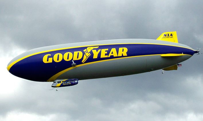 Wingfoot One : le Zeppelin de Goodyear à Pompano Beach