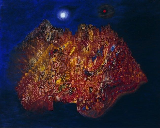 The Inner City par Alice Rahon